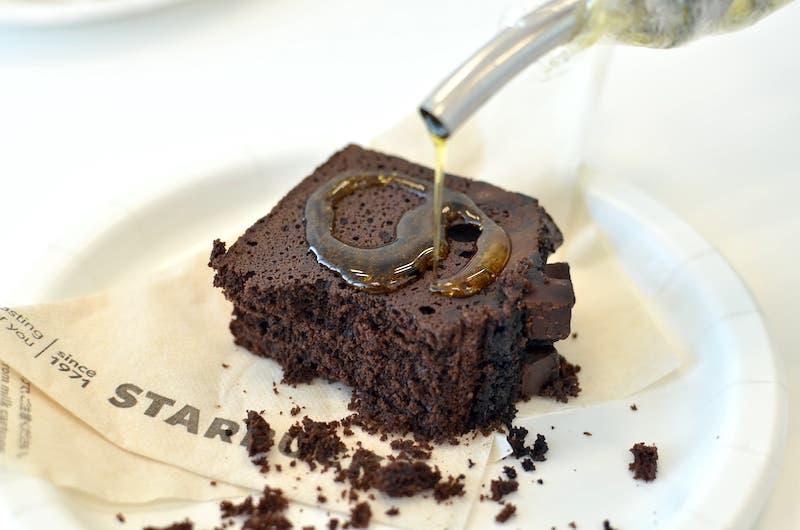 スターバックス チョコケーキ