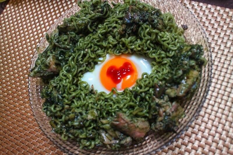 オリーブオイルレシピソング♪ Monster's eye noodle