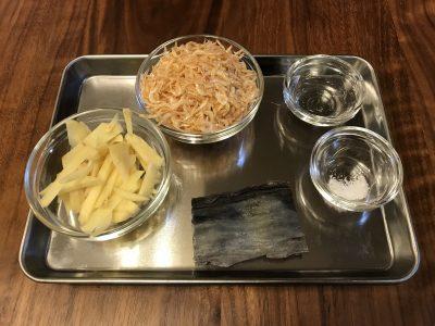 生姜とさくらえびのオリーブご飯