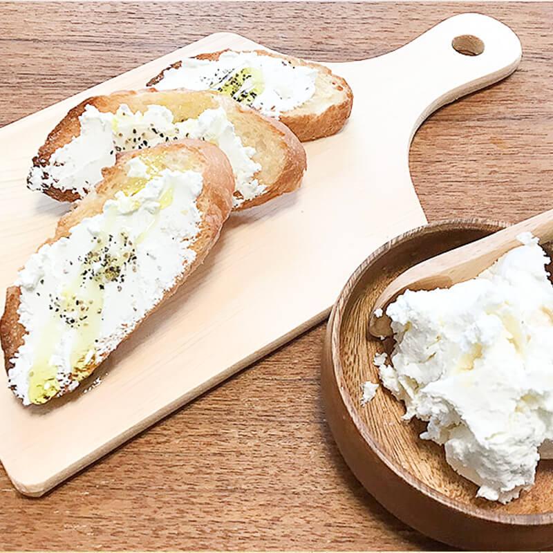 高級チーズを自宅で簡単に作る方法 / 発酵食材とオリーブオイル