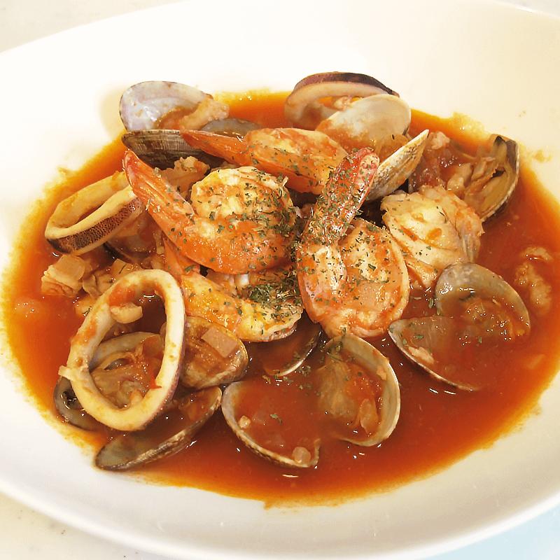 オリーブオイルを使ったズッパディペッシェの簡単な作り方(イタリア風ブイヤベース)