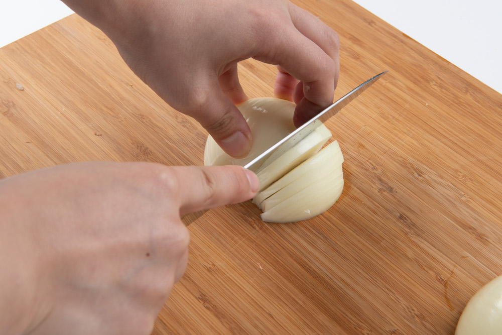 玉ねぎは切り方で味が変わる