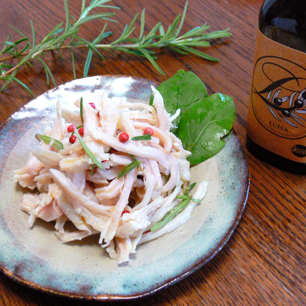 プリプリ塩麹漬け鶏胸肉