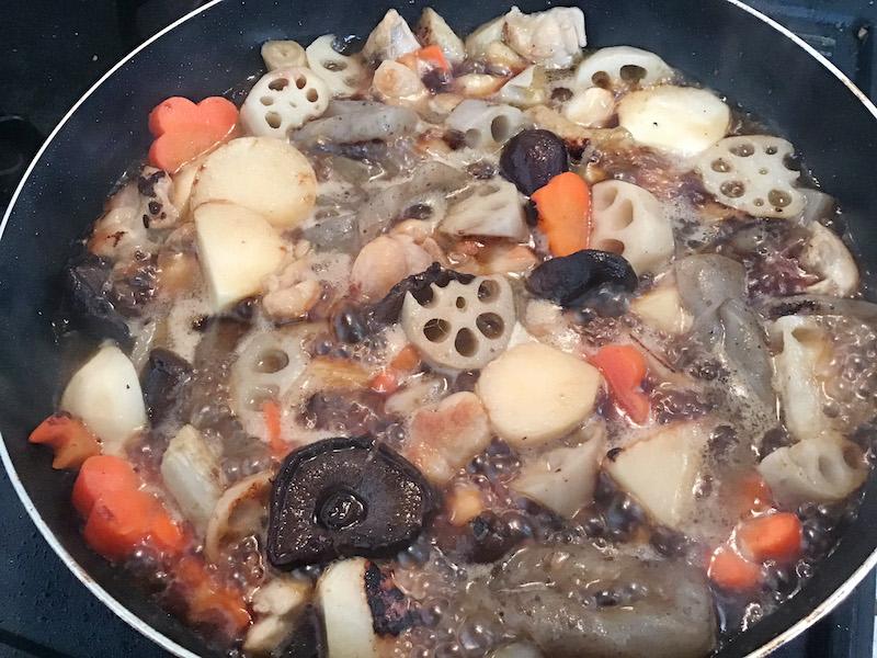 オリーブオイル炒め煮しめ