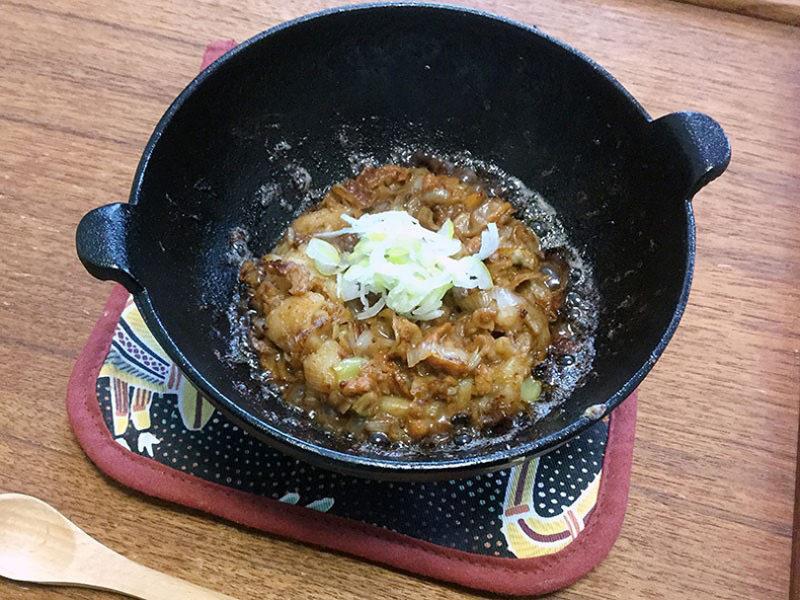 ホタテと味噌がグンと美味しいオリーブオイル貝味噌を100均鉄鍋でつくる