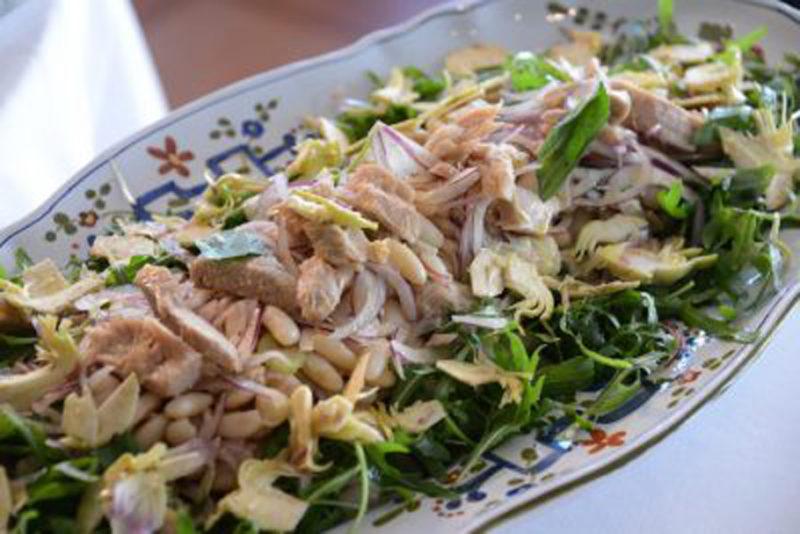 自家製ツナと白インゲンのサラダ