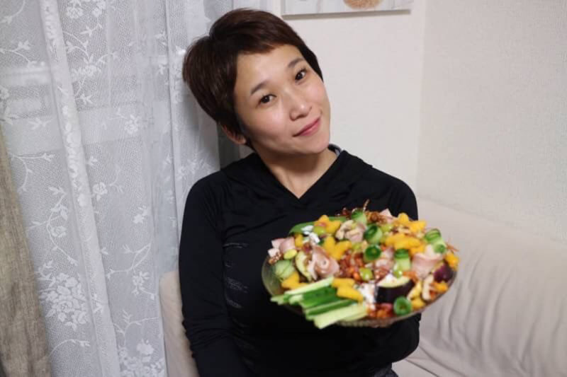 オリーブオイルレシピソング♪ 野菜の花束