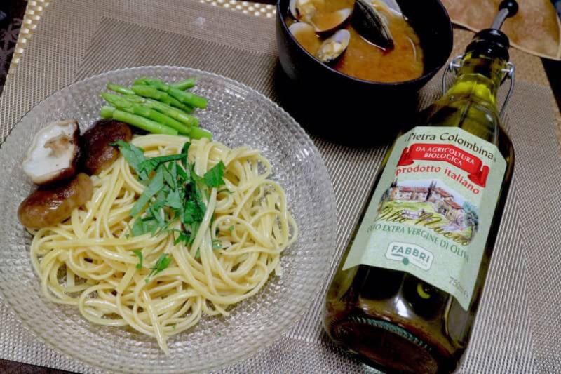 オリーブオイルレシピソング♪ 味噌で簡単。 トマト風つけ麺パスタ