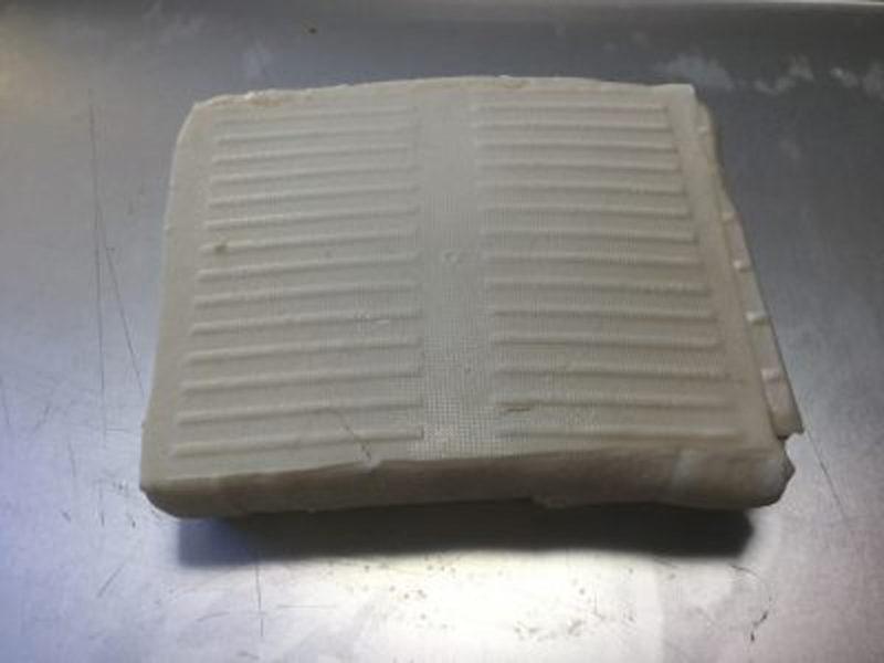 一晩経って水が切れた豆腐