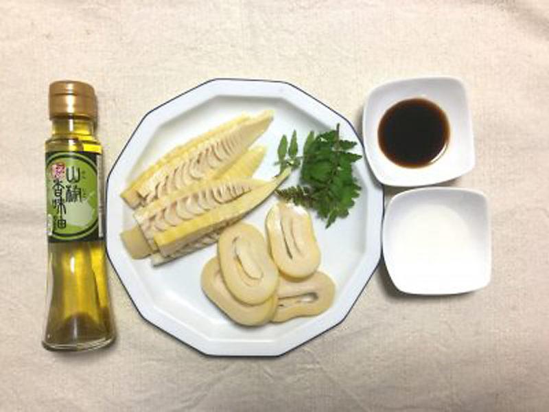 旬タケノコの絶品ステーキ