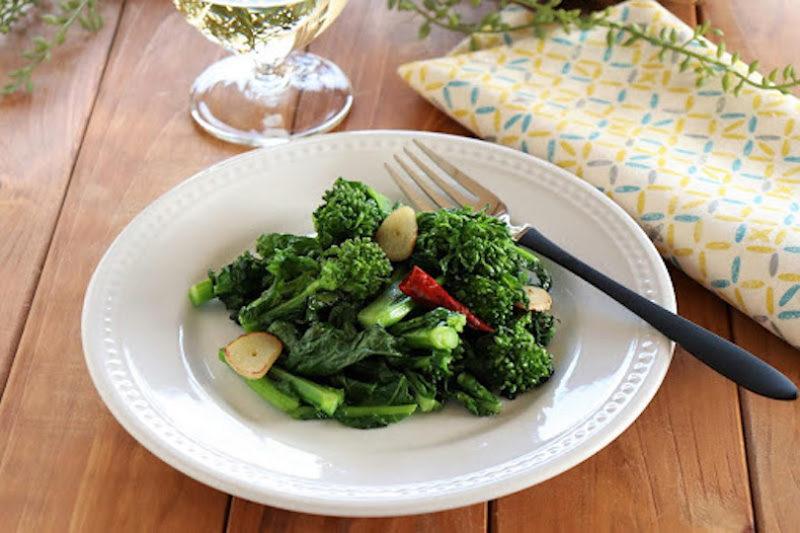 旬を味わう!オリーブオイルと相性抜群「菜の花」のアーリオオーリオ