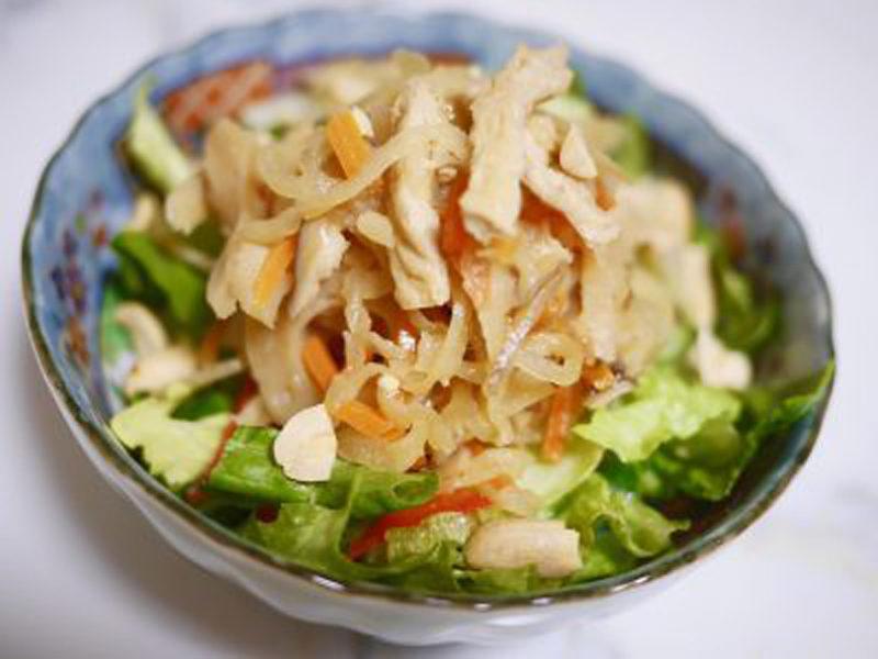 切り干し大根でおつまみ風サラダ