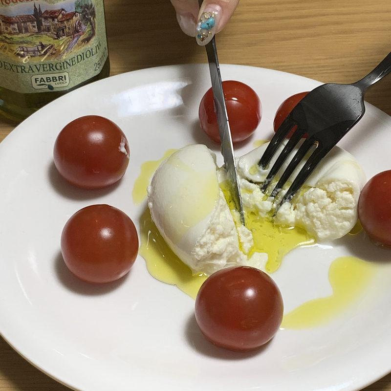 トップバリュ セレクト モッツァレラチーズブラータ
