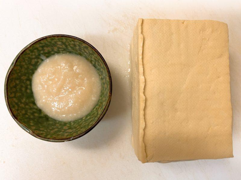 塩麹豆腐用
