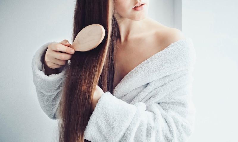 髪の毛が早く伸びる?
