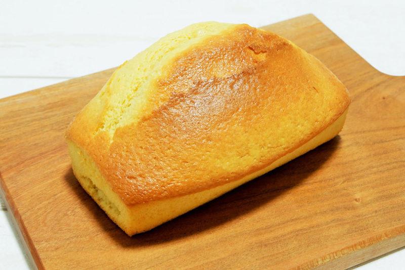 小麦粉とオリーブオイルで作るふっくらパウンドケーキ