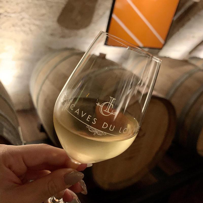しっかり冷えたフランスの白ワイン