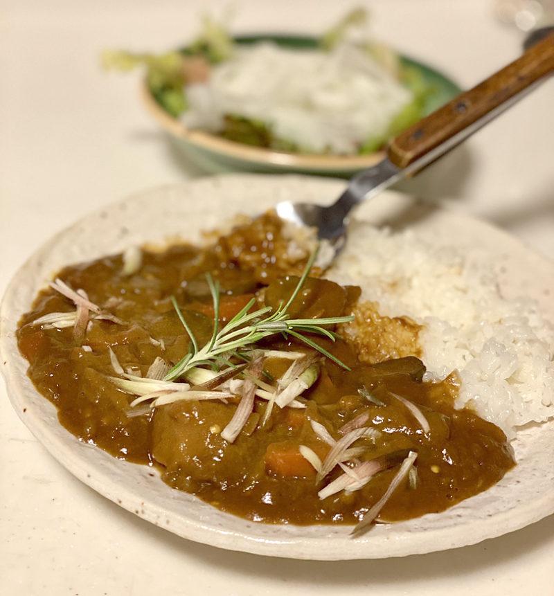 スパイス香る夏野菜たっぷり重ね煮カレー