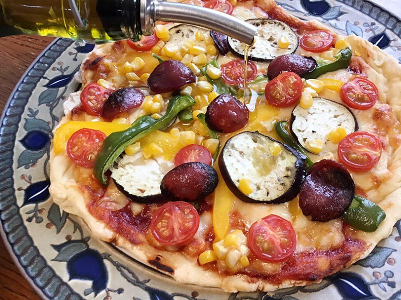 夏野菜ピザ