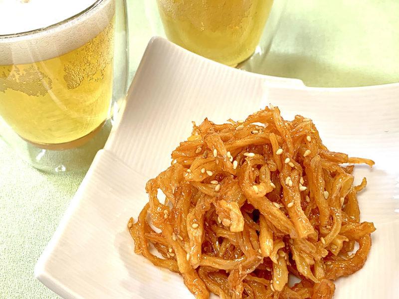 韓国風スルメはごま油で甘辛香ばしく!ビールのおつまみみ