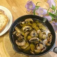 マッシュルームのアヒージョ/栄養士が教える調理の基本