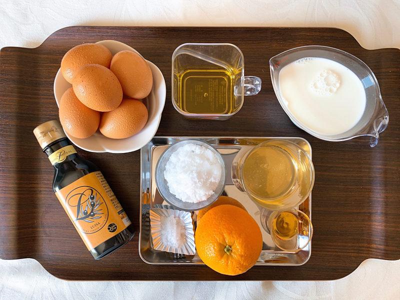 オリーブオイルで作る夏にぴったり、オレンジ香る塩アイスの作り方