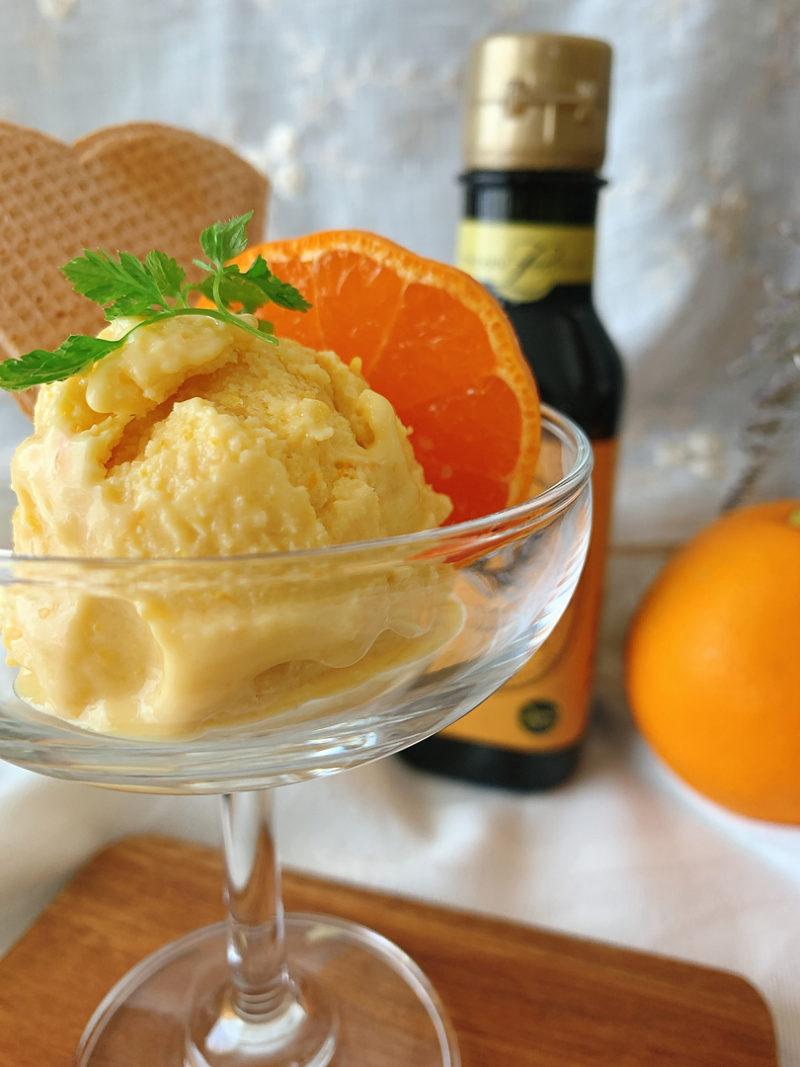 オリーブオイルで作る夏にぴったり、オレンジ香る塩アイス
