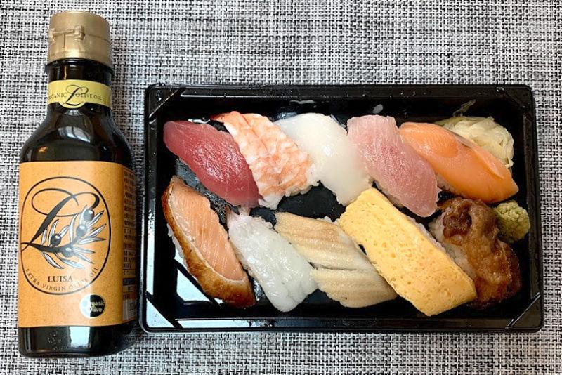 オリーブオイル寿司に挑戦!くら寿司の「極旨人気10種セット」塩とオリーブオイルで実食
