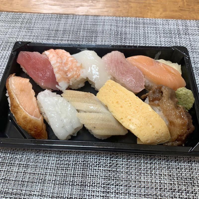 くら寿司の「極旨人気10種セット」
