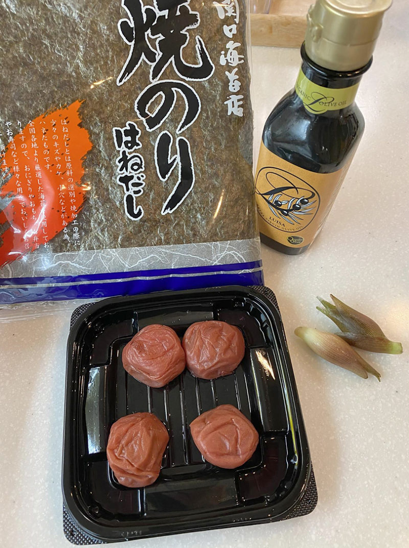 梅、海苔ソースでさっぱり唐揚げの作り方