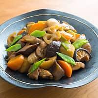 オリーブオイルでつくる筑前煮/煮物とオリーブオイル