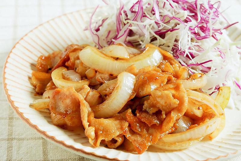 10分で美味しい!豚肉の生姜焼きレシピ