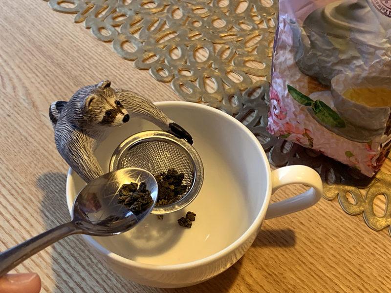 台湾茶がうちにあったので、それを少しづつ投入