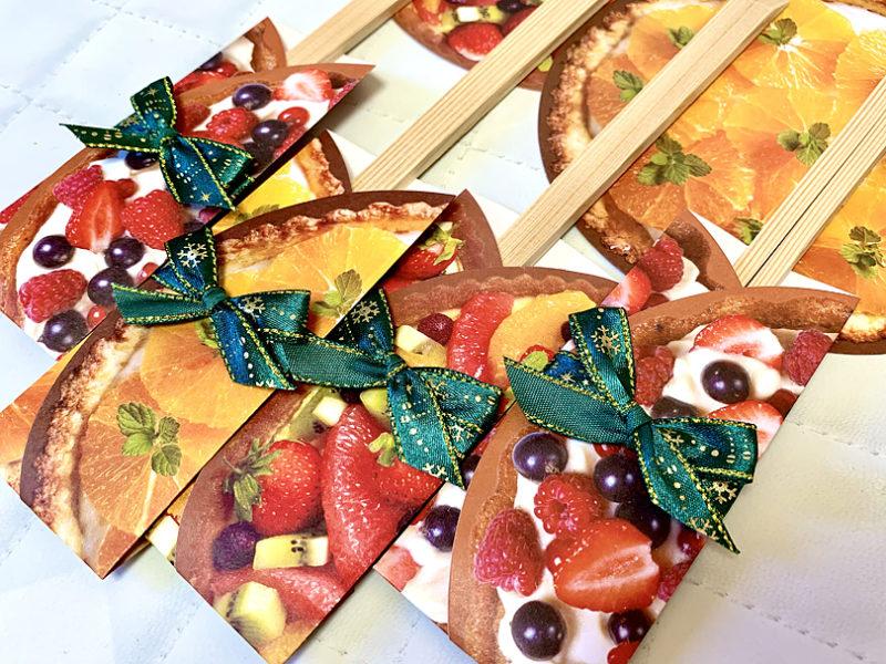 丸い折り紙を使って箸袋を作ろう