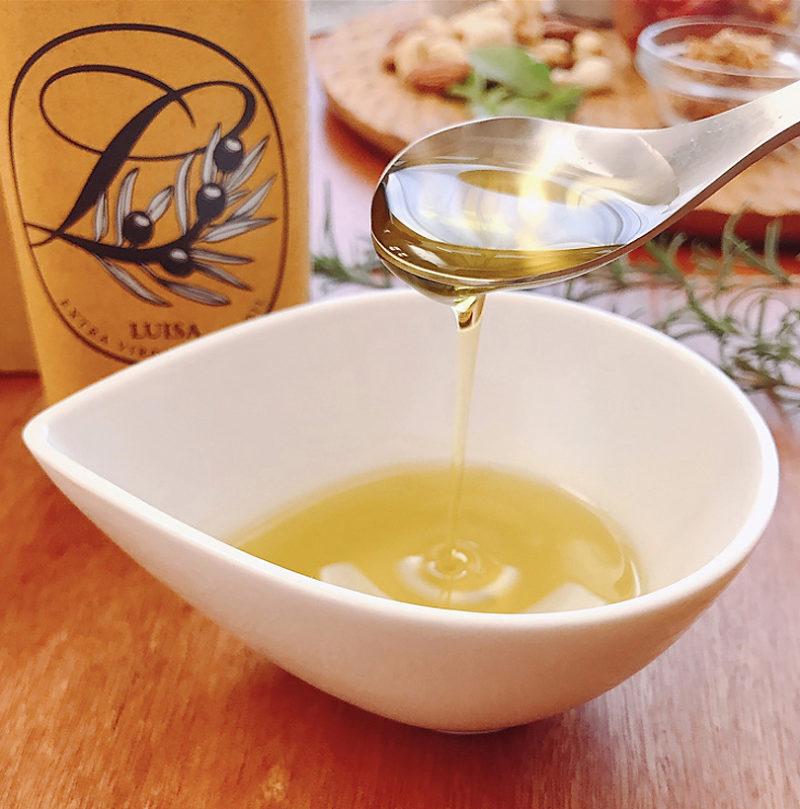 日清オイリオのルイーザ オーガニックエクストラバージンオイル