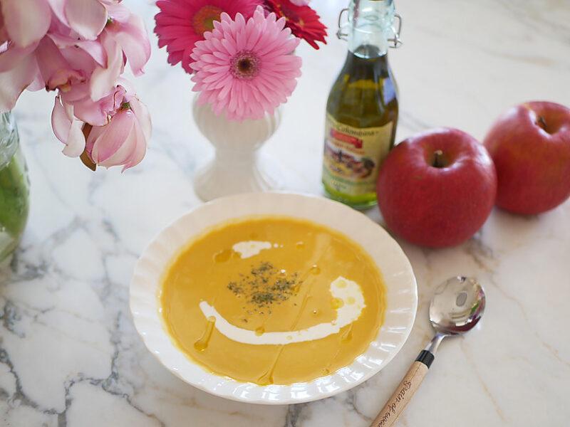 食物繊維たっぷりかぼちゃのスープ
