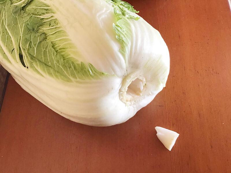 白菜のオススメ保存法