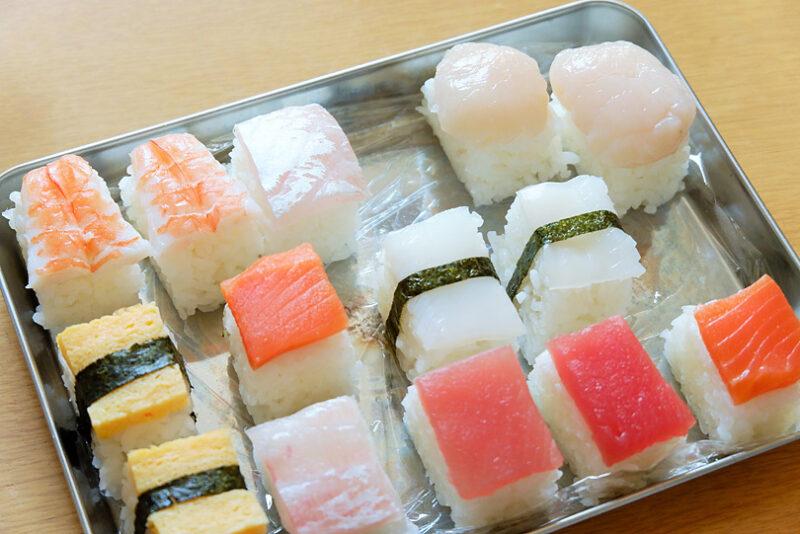 手巻き寿司セットでモザイク寿司
