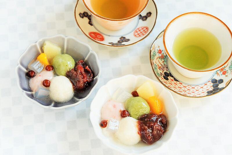 絹豆腐で作る白玉レシピ