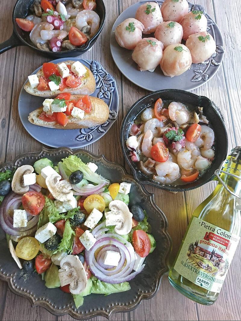 実は簡単!エキストラバージンオリーブオイルで地中海料理に挑戦