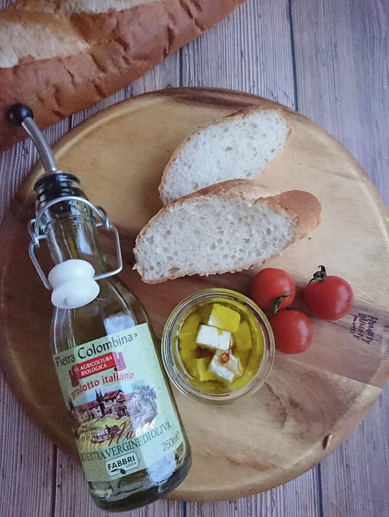 イタリア料理 トマトとフェタチーズのブルスケッタの作り方