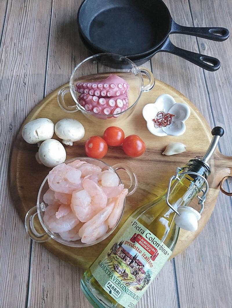 スペイン料理 アヒージョの作り方