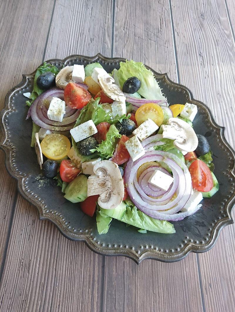 ギリシャ料理 グリークサラダ