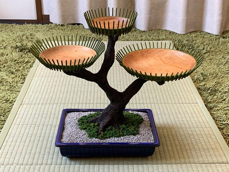 盆栽式ティースタンド