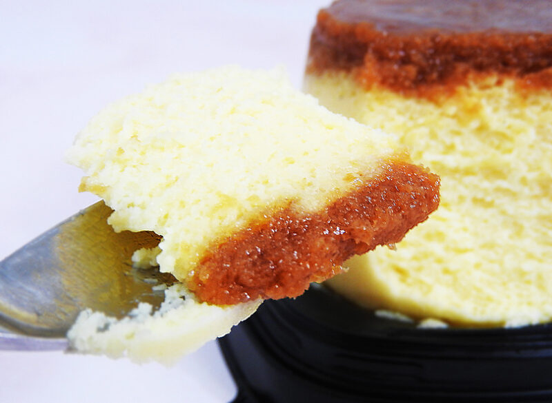 ファミリーマート「プリン!?なチーズケーキ」を実食しました