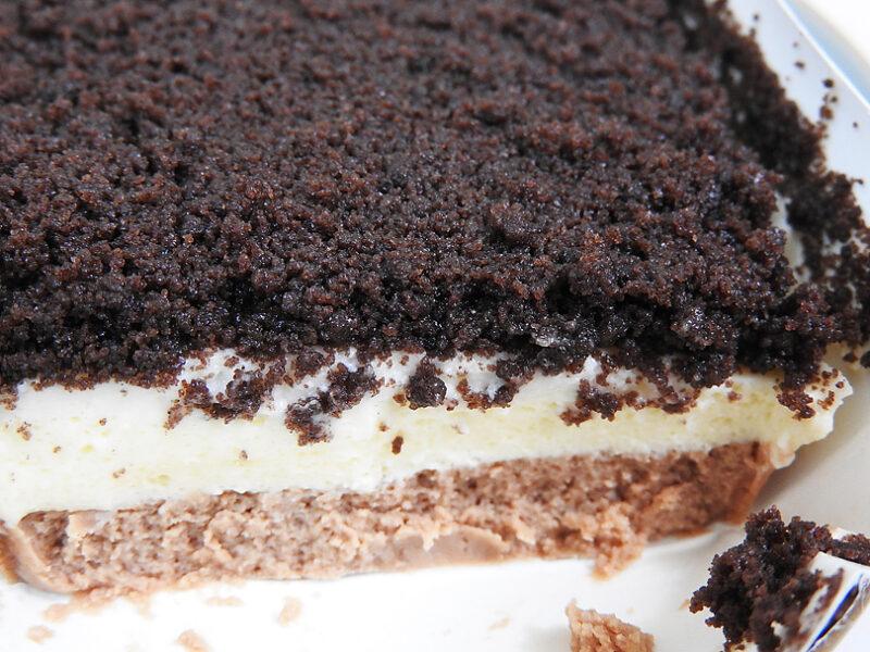 ファミリーマート「ショコラチーズケーキ」を実食しました