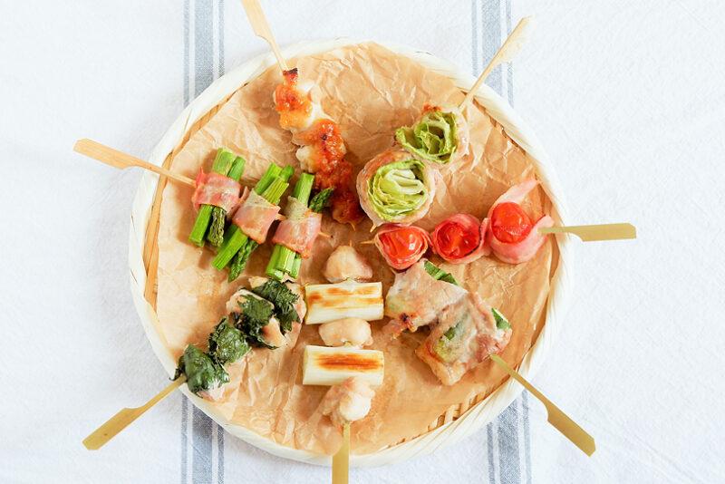 いろいろ串焼きのレシピ