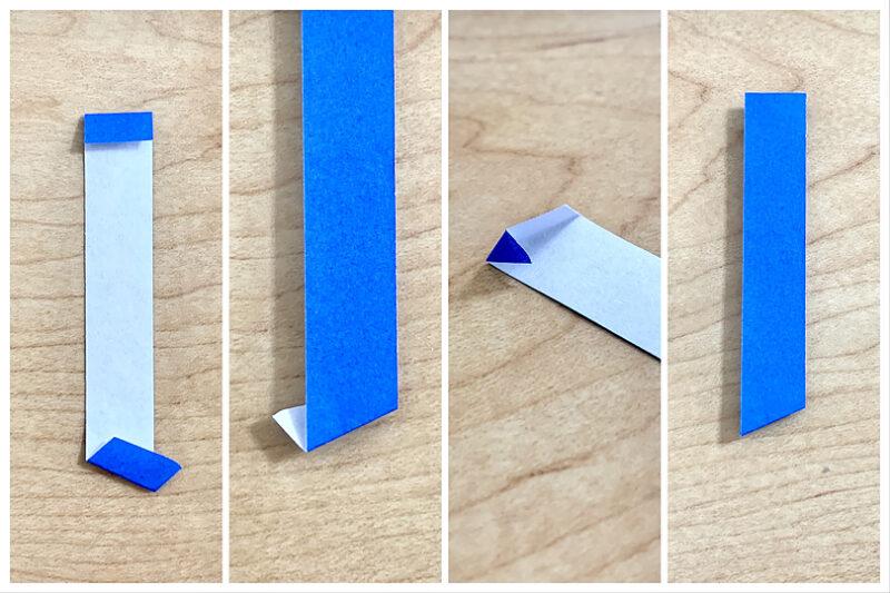 折り紙で再現してみます