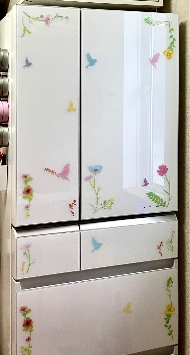 デコ冷蔵庫の完成です