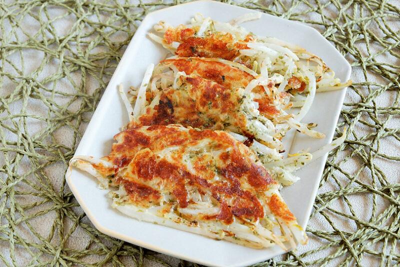 もやしの海苔チーズ焼き